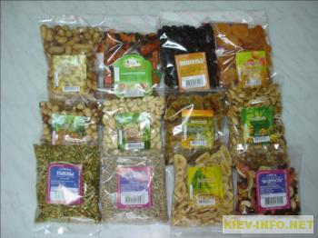 Упаковка продукции бакалея